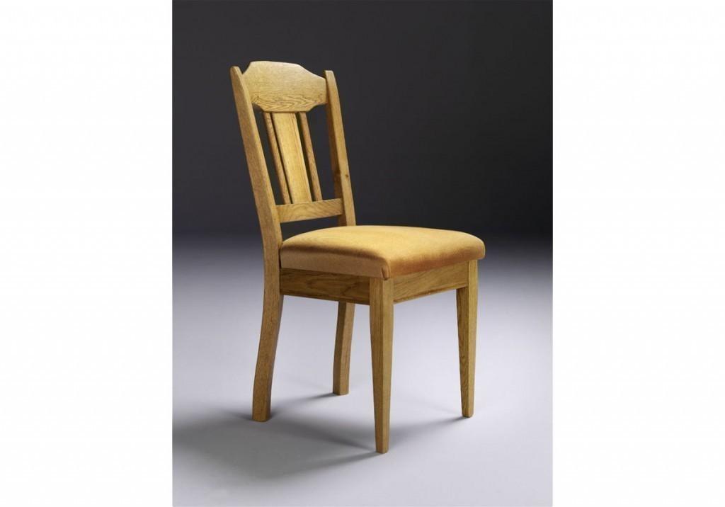 stuhl marne klassischer massiver stuhl in eiche massiv gelaugt ge lt eiche natur gebeitzt. Black Bedroom Furniture Sets. Home Design Ideas