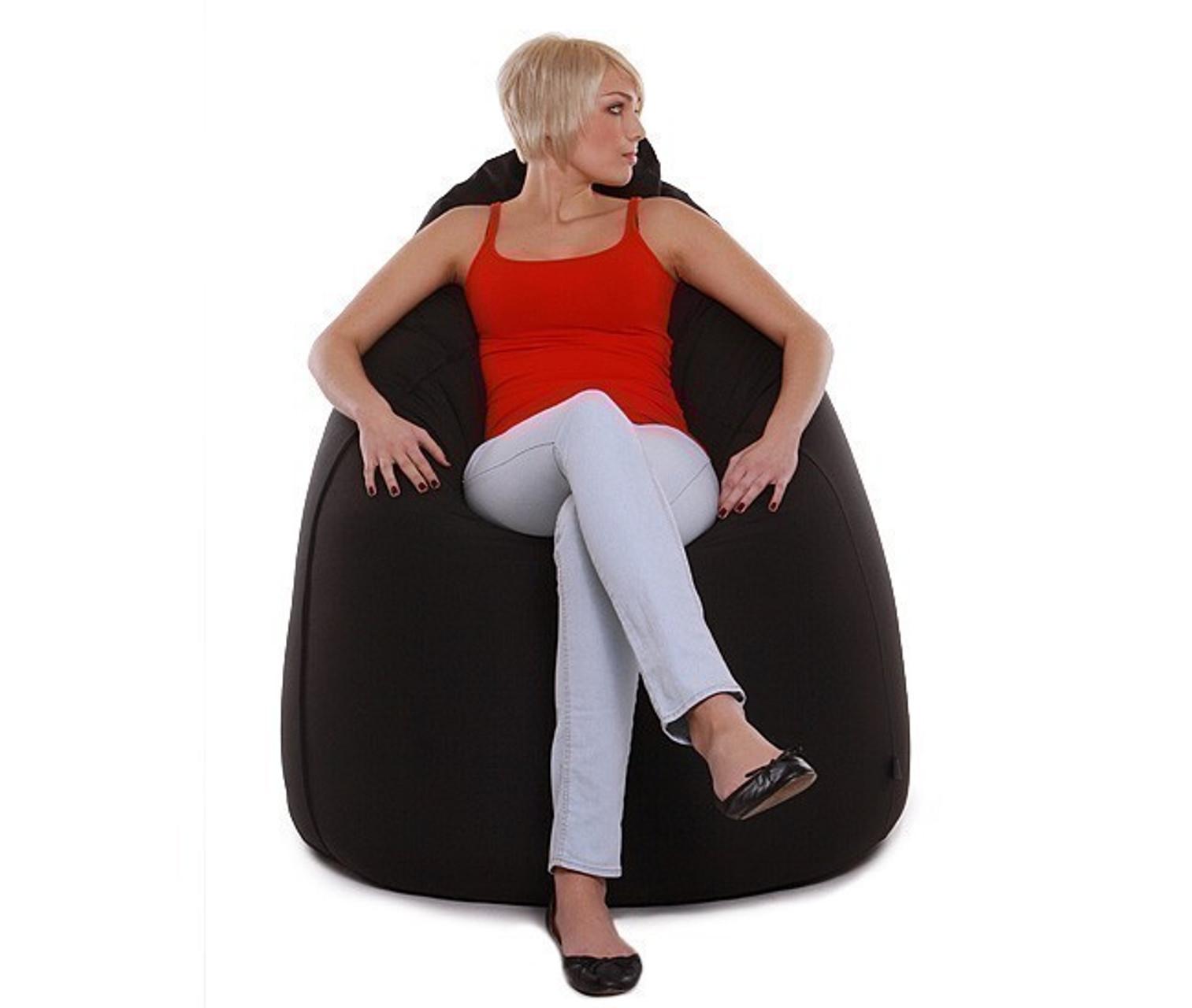 re bax jumbo xl sitzsack mit leder bezug rustik gr e ca 135cm durchmesser ca 90cm. Black Bedroom Furniture Sets. Home Design Ideas