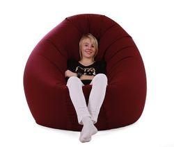 re-bax basic / Sitzsack mit Indoorstoff-Bezug / Höhe: ca. 25 cm / Durchmesser: ca. 130 cm / Füllvolumen: ca. 330 l
