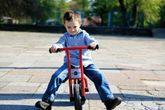 JAALINUS Bike Runner - rot/schwarzes Laufrad / Lenkerhöhe 60 cm / Sitzhöhe 34 cm / Alter: 3-6 Jahre