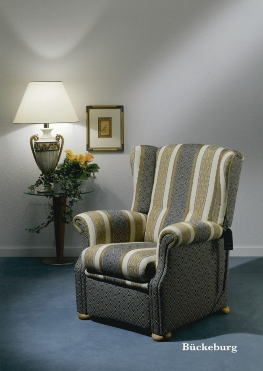 fernsehsessel ohrensessel b ckeburg mit funktion von engel polsterm bel made in germany. Black Bedroom Furniture Sets. Home Design Ideas