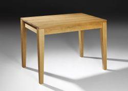Esstisch / Tisch Ahaus 140 cm x 90 cm, Höhe 76 cm, Holzart: Eiche vollmassiv -  Qualität  Made in Germany