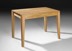 Esstisch / Tisch Ahaus 140 cm x 90 cm, Höhe 77 cm, Holzart: Kernbuche oder Buche vollmassiv -  Qualität  Made in Germany