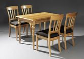 Esstisch / Tisch Asbeck mit Schublade, 112 cm x 72 cm, Höhe 77 cm, Holzart: Eiche vollmassiv -  Qualität  Made in Germany