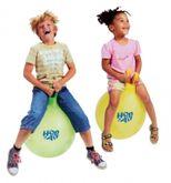 1x Hüpfball Hop on Air von GYMNIC / Kinder-Hüpfball mit Griff / Größe: Ø 45 cm / Farbe: gelb / max. Belastung: 150 kg / 3+