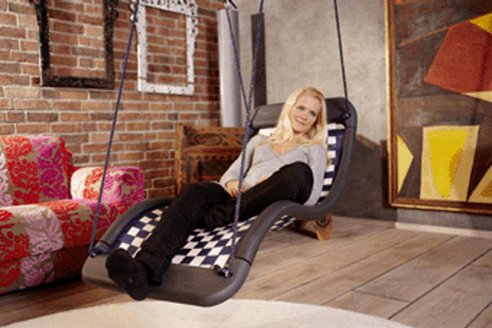 relax schaukel dreamlinerstandard l farbe silber. Black Bedroom Furniture Sets. Home Design Ideas