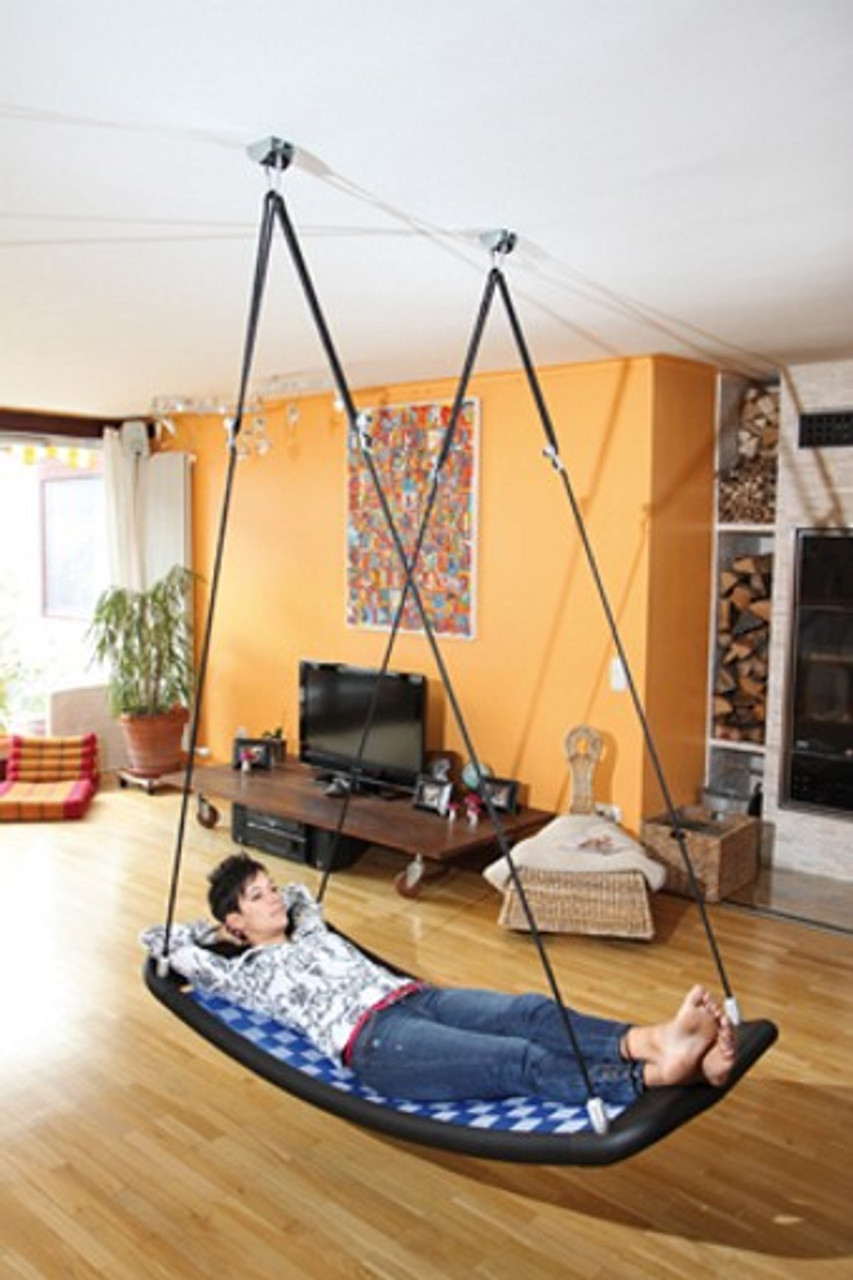 Relax-Schaukel - Lifestyle Plus EL (extra lang) / Farbe: silber ...