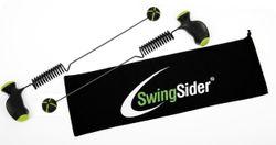 SwingSider - Set / 2 Trainingsgeräte für dreidimensionales Training im 360°-Radius / Maße: 55cm lang, Handgriffe 12cm lang / inkl. Übungsposter