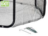 EXIT Rahmennetz 10ft / passendes Rahmennetz - Zubehör für das runde EXIT Trampoline - Ø 305 cm / Farbe: schwarz / Lieferung ohne Trampolin!