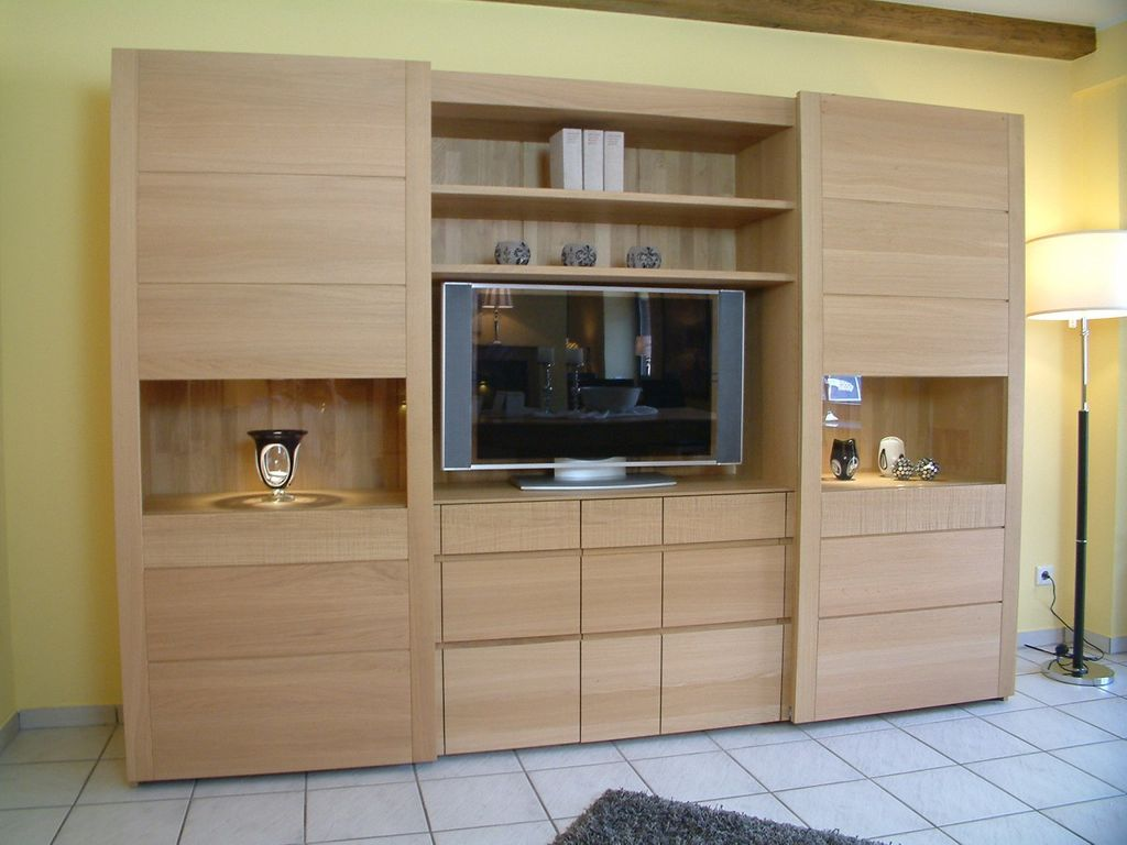 vollholz schrank moderner wohnschrank moderna 284 mit 2. Black Bedroom Furniture Sets. Home Design Ideas