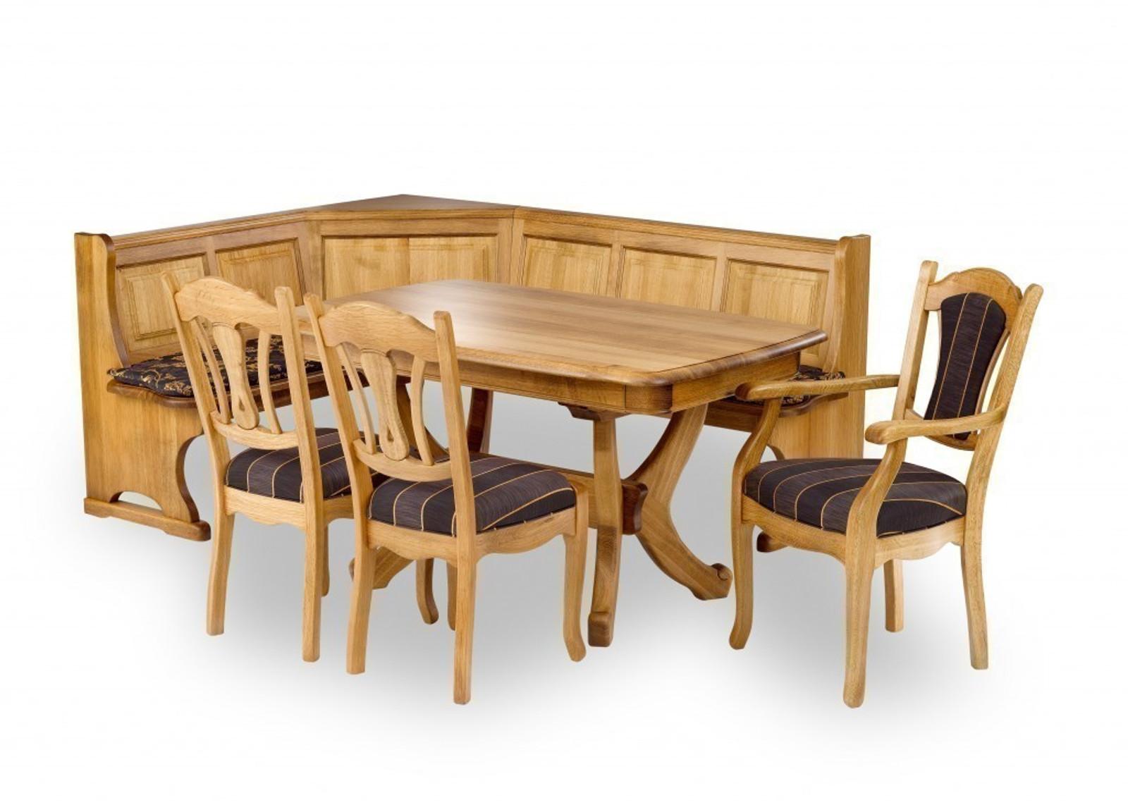 Esstisch Esszimmertisch Tisch Stolberg Eiche Rustikal Gelaugt