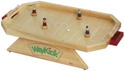 Weykick Stadion 7500 / Magnetfußball für 2-4 SpielerInnen / Material: Holz / Spielfläche: 46 x 71 cm / 4 Fußballspieler mit Führungsmagneten (2 blau - 2 rot) + 2 Bälle / 3+