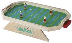 Weykick Stadion 7500G / Magnetfußball für 2-4 SpielerInnen / Material: Holz / Spielfläche: 46 x 71 cm / 4 Fußballspieler mit Führungsmagneten (2 blau - 2 rot) + 2 Bälle / 3+