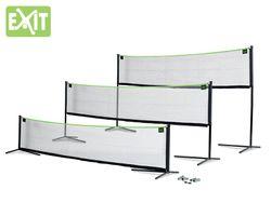 EXIT Multi-Sport Netz 5000 / Multi-Funktionsnetz / Breite: 500 cm / Höhe verstellbar: 100/172/243 cm / Farbe: schwarz / mit Bodenankern