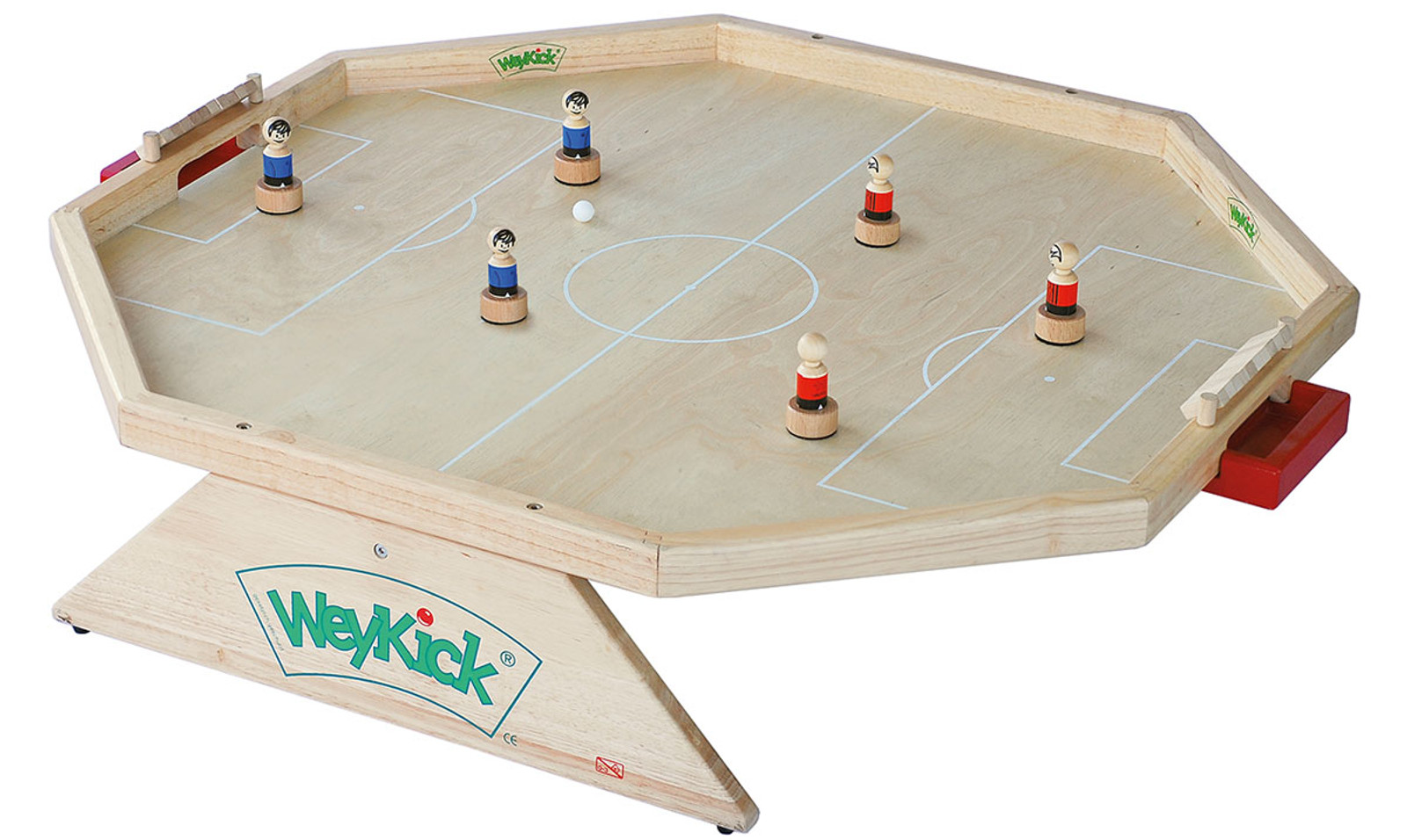 weykick arena 7700 magnetfu ball f r 2 6 spielerinnen material holz spielfl che 82 x 88. Black Bedroom Furniture Sets. Home Design Ideas