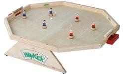 Weykick Arena 7700 / Magnetfußball für 2-6 SpielerInnen / Material: Holz / Spielfläche: 82 x 88 cm / 6 Fußballspieler mit Führungsmagneten je 3 blau + rot, 2 Bälle / ab 3 Jahre