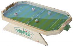 Weykick Stadion Fix 7500A / Magnetfußball mit Plexiglas-Abdeckung / für 2-4 SpielerInnen / Spielfläche: 46 x 71 cm / 4 Fußballspieler mit Führungsmagneten + 1 Ball / 3+