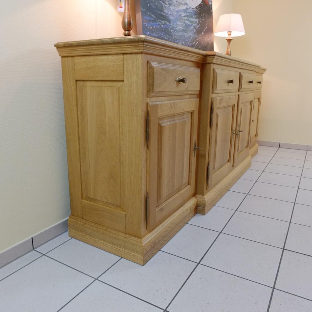 sideboard anrichte eiche vollmassiv modell norden 4 t rig mittelteil vorgebaut moderne m bel. Black Bedroom Furniture Sets. Home Design Ideas