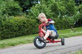 VIKING Slalom Trike Large von Winther / Länge: 95 cm / Breite: 58 cm / Höhe: 61 cm / Sitzhöhe: ca. 24 cm / für Kinder von 6-10 Jahren geeignet
