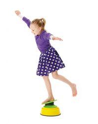 Build´n´Balance Kippscheiben Set / Balancier-Elemente für den Build N´ Balance Parcours / 1 x Kippscheibe + 1 x Top 10 / für Kinder ab 3 Jahren