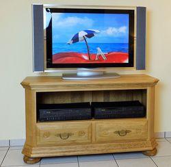 Legden TV-Anrichte, Fernsehanrichte, Lowboard, Fernsehschrank  Breite 115 cm Eiche gelaugt, Modell  TV-Anrichte Legden 115  / Eiche Buche oder Kirschbaum vollmassiv
