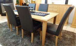 Esstisch / Esszimmertisch / Vierfußtisch / Tisch im Landhausstil / ein Masstisch in Eiche, Buche oder Kirschbaum, Modell  Landhaus