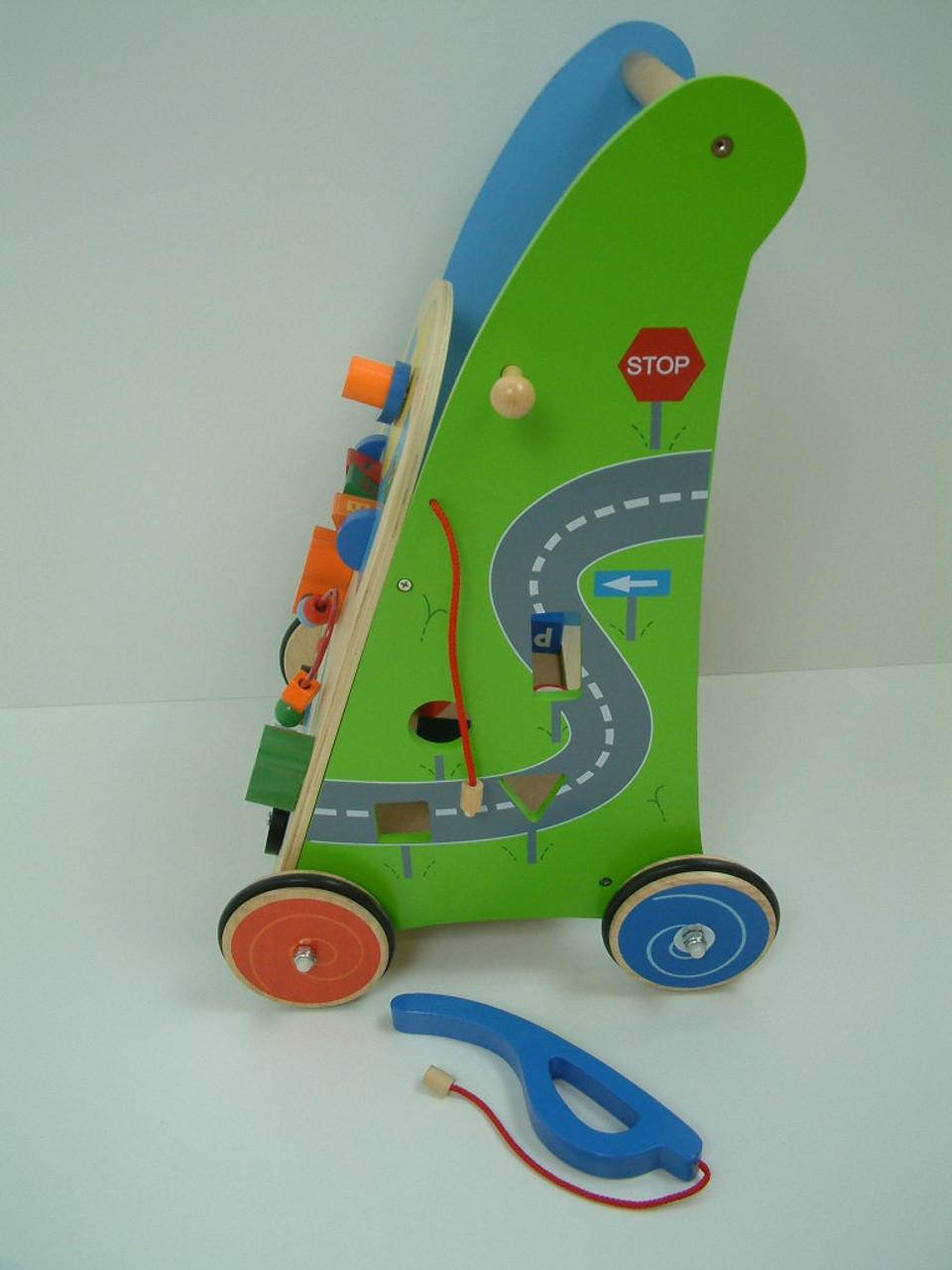 Holzspielzeug Lkw Fahrzeug mit Hupe aus Holz ab 1 Jahr in