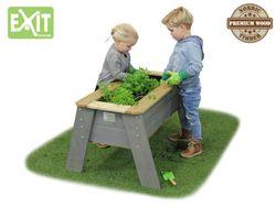 EXIT Aksent Hochbeet L / Material: Nordisches Fichtenholz / Maße: 93,5 x 68 x 50 cm / Gewicht: 13 kg / für Kinder ab 3 Jahren geeignet