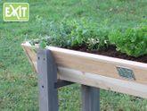 EXIT Aksent Trapezium Hochbeet M / Material: Nordisches Fichtenholz / Maße: 115 x 28 x 60 cm / Gewicht: 10 kg / für Kinder ab 3 Jahren geeignet