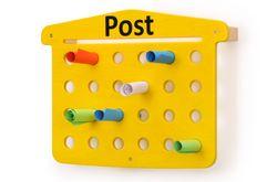 Elternpost - Briefkasten / Material: Birke Multiplex lackiert / 66 x 50 x 12 cm / inkl. Befestigungsmaterial / Made in Germany