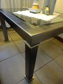 Couchtisch / Wohnzimmertisch / Sofatisch / Ecktisch  Lancel  70 x 70 cm alt bronce mit Glasplatte / Ausstellungsstück zum Sonderpreis 799,00 €