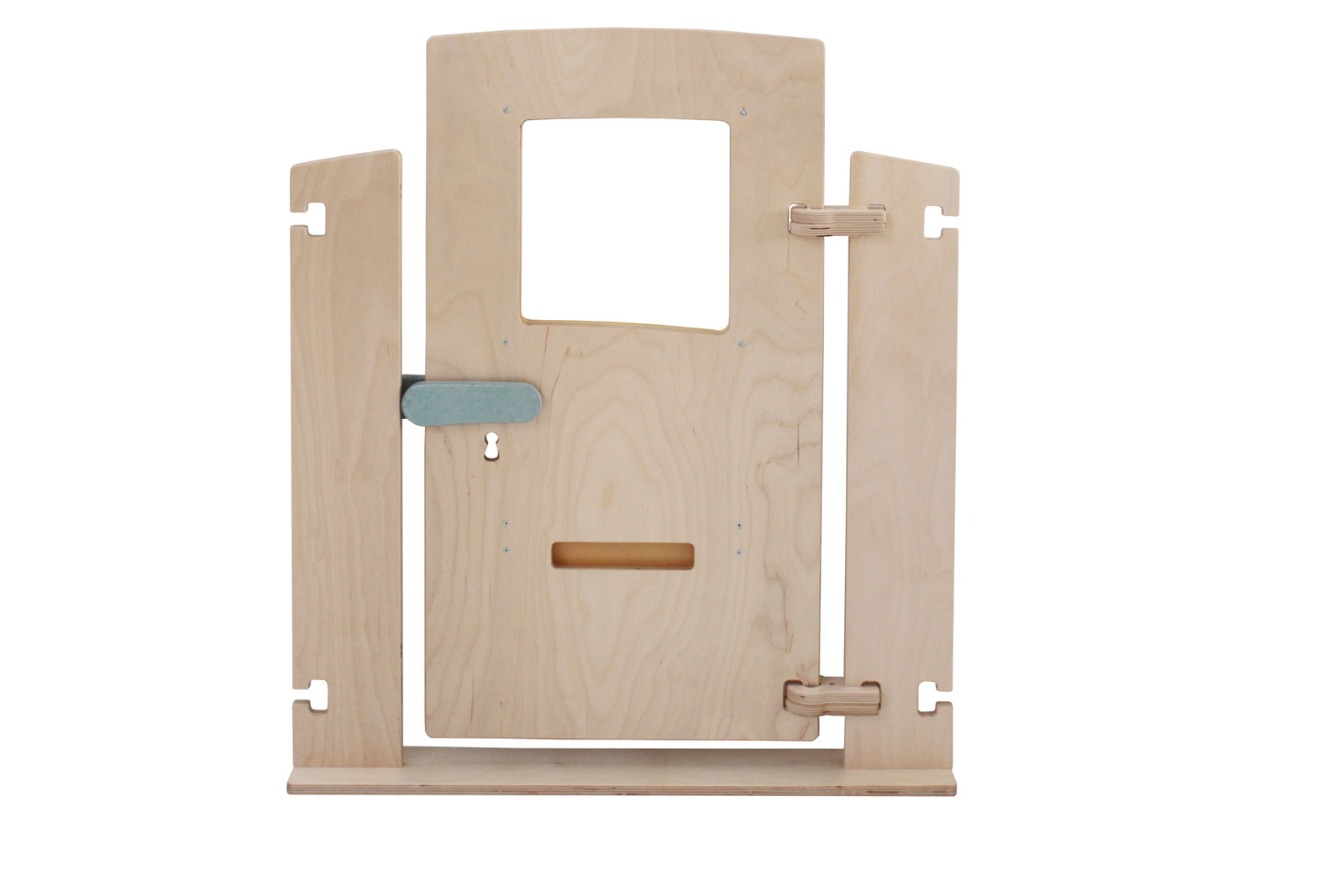 1x variabler raumteiler t r mit briefschlitz beidseitig bespielbar material holz breite. Black Bedroom Furniture Sets. Home Design Ideas