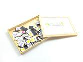 Magnet-Spiel ABC im Holzkoffer / über 100 magnetische, Buchstaben, Zahlen und Sonderzeichen / 30 x 23 x 4 cm / für Kinder ab 3 Jahren