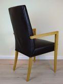 6 Stühle und 2 Armlehnen-Stühle / Sessel  Kantatus   / Eiche massiv / modern/ komplette Ausstellungsgruppe (ohne Tisch und Deko) zum Sonderpreis zusammen 1.990,00 €