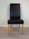 Stuhl und Armlehnen-Stuhl  Kantatus   / Eiche massiv / modern/ komplette Ausstellungsgruppe (6 Stühle und 2 Armlehnen-Stühle) zum Sonderpreis zusammen 2.590,00 €