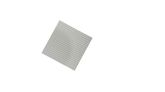 Basisplatte  Graue Brüder  klein 20 x 20 Noppen 4er Set klein / Maße: 16 x 16 cm / Farbe: blaugrau, hellgrau, silber-metallic, mittelgrau