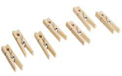 20 Wäscheklammern aus Holz / Made in Germany / für Kinder ab 3 Jahren geeignet