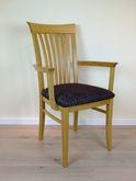 Hülsede Stuhl 460 - Massivholzstuhl mit Sprossen im Rücken - viele Bezüge möglich