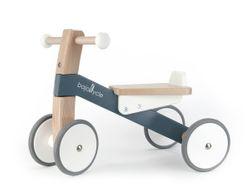 Tolles Laufrad / Sportbike aus Holz / Farbe: natur, weiss + grau / L: 55 cm x B: 29cm x H: 40cm / für Kinder ab 1 Jahr