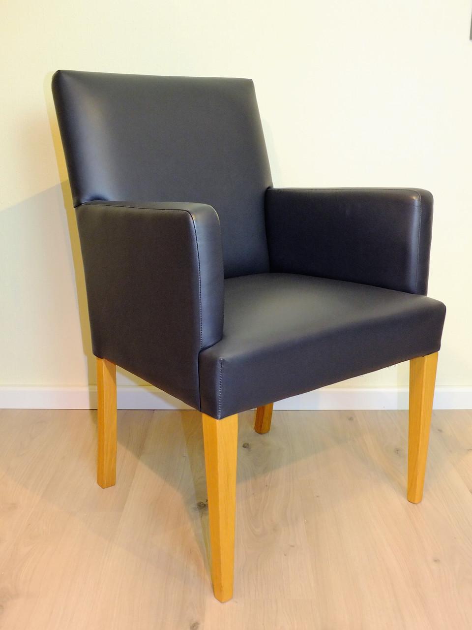 sessel rastatt eiche massiv leder grau ausstellungsst ck zum sonderpreis 995 00 angebote. Black Bedroom Furniture Sets. Home Design Ideas