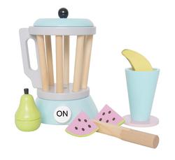 Smoothie-Set / Smoothie Maker - Sandmixer / für die Zubereitung von Smoothies in der Kinderküche / Maße: Höhe: 18 cm  Ø 12,5 cm Material: Holz / für Kinder ab 3 Jahren