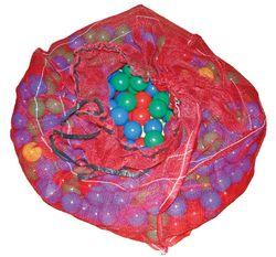 Bällchen / 500 Stück / Ideal für's Bällebad oder Bällchenhaus / Maße : Ø 6,5 cm / Material: PE / für Kinder ab 3 Jahre