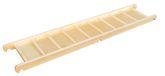 Edugym Laufbrett / Geschicklichkeit und Bewegung fördern / Material: Buchenholz + Birkensperrholz / Maße: 190 x 40 x 8 cm / für Kinder ab 3 Jahre geeignet
