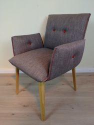 Soda Sessel, Vollpolster Sessel, auch als Stuhl möglich, Modern, ein sehr bequemer Polsterstuhl