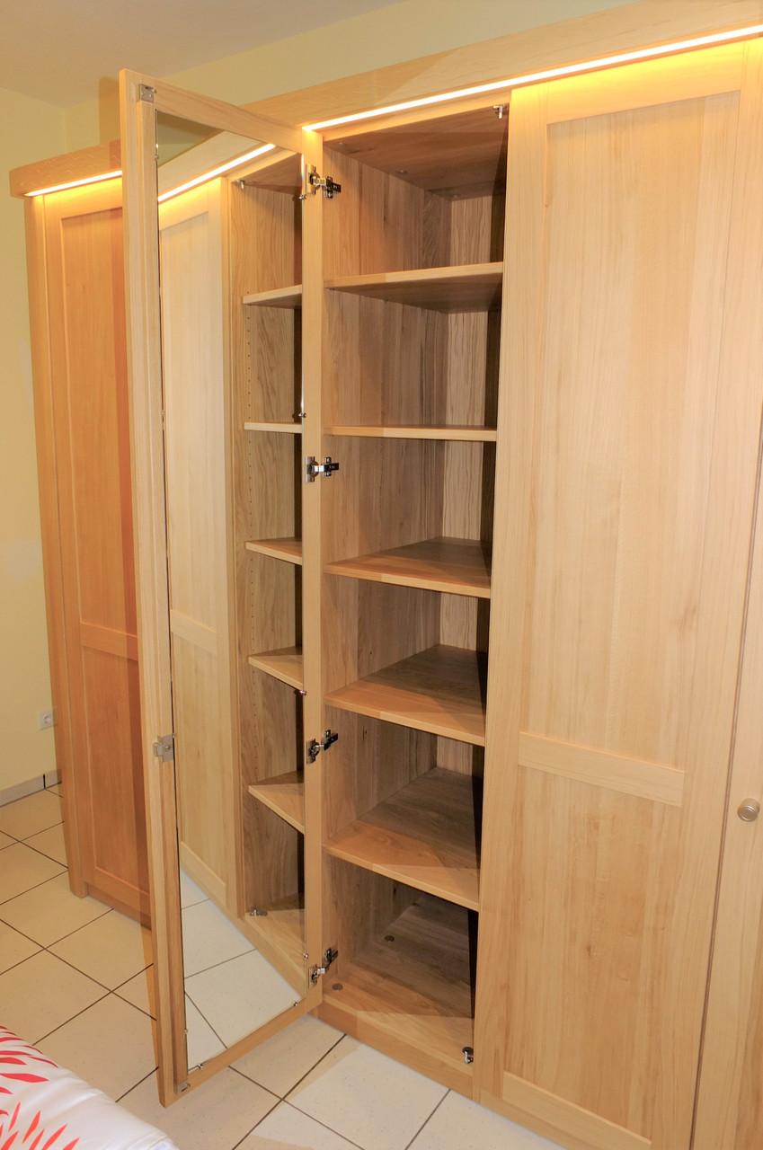 lavesum kleiderschrank schlafzimmerschrank eiche. Black Bedroom Furniture Sets. Home Design Ideas