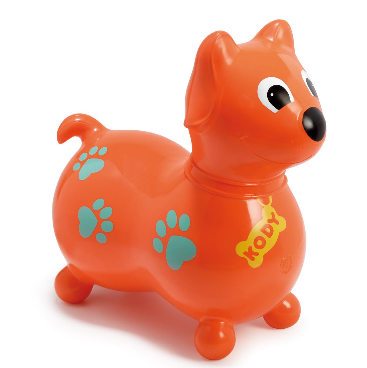 kody orange 1 x aufblasbarer h pfhund f r kinder ab 3. Black Bedroom Furniture Sets. Home Design Ideas