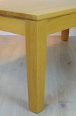Couchtisch / Wohnzimmertisch / Sofatisch Ahaus 130 X 70 - Höhe 52 cm, Füße verjüngt - andere Maße möglich, Eiche, Asteiche, Buche, Kirsche vollmassiv