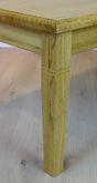 Couchtisch / Wohnzimmertisch / Sofatisch  Landhaus  120x70 cm - Höhe 55 cm Eiche gelaugt - andere Maße sind möglich, Eiche Buche Kirschbaum massiv, Holzplatte mit Profilfräsung