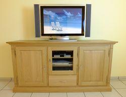 Montreux TV Anrichte 180 cm Höhe 90 cm / Fernsehanrichte / Lowboard / Sideboard in Eiche massiv - auch in Buche oder Kirschbaum möglich