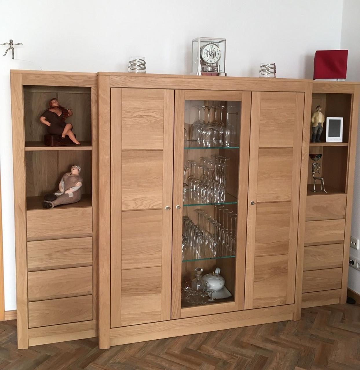 Haltern Schrank Mit Vorbau Wohnzimmerschrank Wohnschrank Eiche
